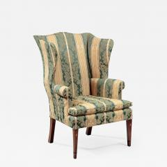 FEDERAL INLAID WING CHAIR - 752931