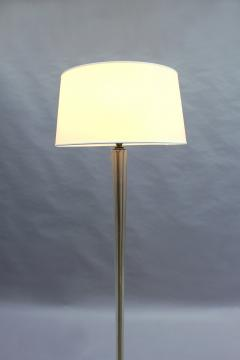FINE FRENCH ART DECO GLASS AND BRONZE FLOOR LAMP - 992186