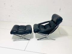 FORMANOVA Milano Sayonara Chair and Ottoman by Giulio Moscatelli 1960s - 1416044
