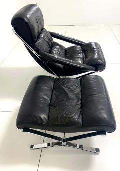 FORMANOVA Milano Sayonara Chair and Ottoman by Giulio Moscatelli 1960s - 1416046
