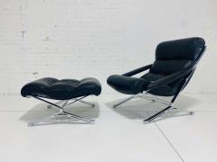 FORMANOVA Milano Sayonara Chair and Ottoman by Giulio Moscatelli 1960s - 1416050