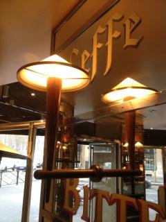 FOUR sconces from the Cafe Francais France 1970 - 961667
