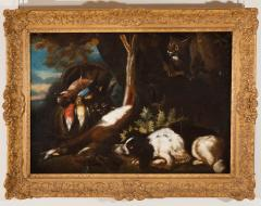 FRANZ WERNER VON TAMM PAIR OF HUNTING STILL LIFE PAINTINGS OF SPANIELS Late 17th century - 1794058
