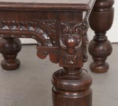 FRENCH 18TH CENTURY HAND CARVED OAK CENTER TABLE - 943127