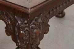 FRENCH 18TH CENTURY HAND CARVED OAK CENTER TABLE - 943139