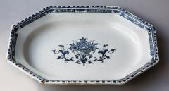FRENCH 18TH CENTURY OCTAGONAL PLATTER OR SERVING DISH - 781227