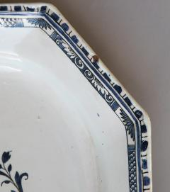 FRENCH 18TH CENTURY OCTAGONAL PLATTER OR SERVING DISH - 781235