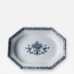 FRENCH 18TH CENTURY OCTAGONAL PLATTER OR SERVING DISH - 784367