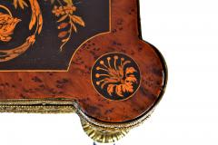 FRENCH 19TH CENTURY LOUIS PHILLIPHE INLAID GAME SIDE TABLE  - 1239849