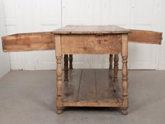 FRENCH 19TH CENTURY PAINTED DRAPERY TABLE - 955740