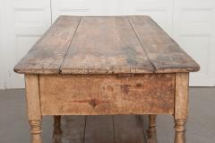 FRENCH 19TH CENTURY PAINTED DRAPERY TABLE - 955742