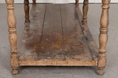 FRENCH 19TH CENTURY PAINTED DRAPERY TABLE - 955743
