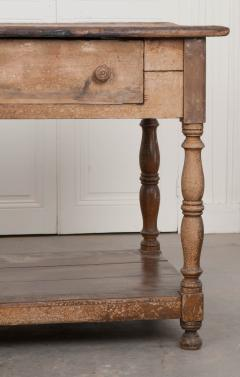 FRENCH 19TH CENTURY PAINTED DRAPERY TABLE - 955744
