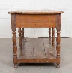 FRENCH 19TH CENTURY PAINTED DRAPERY TABLE - 955745