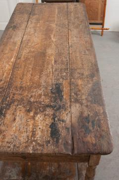 FRENCH 19TH CENTURY PAINTED DRAPERY TABLE - 955747
