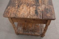 FRENCH 19TH CENTURY PAINTED DRAPERY TABLE - 955748