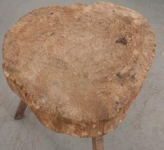 FRENCH 19TH CENTURY PROVINCIAL TREE TRUNK CHOPPING BLOCK - 882358