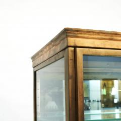 FRENCH ART DECO BRASS AND GLASS VITRINE DISPLAY CABINET - 2114520