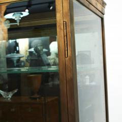 FRENCH ART DECO BRASS AND GLASS VITRINE DISPLAY CABINET - 2114522