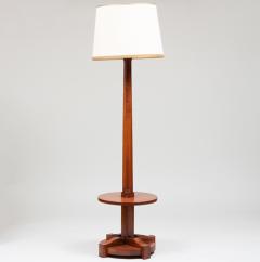 FRENCH ART DECO TULIPWOOD FLOOR LAMP - 1911388