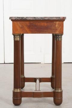 FRENCH EARLY 20TH CENTURY MAHOGANY EMPIRE TABLE - 882335