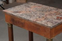 FRENCH EARLY 20TH CENTURY MAHOGANY EMPIRE TABLE - 882336