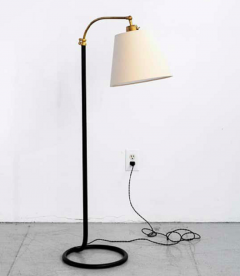 FRENCH FLOOR LAMP WITH CIRCLE BASE - 1281652
