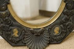 FRENCH NEOCLASSICAL BRONZE MIRROR - 1629704