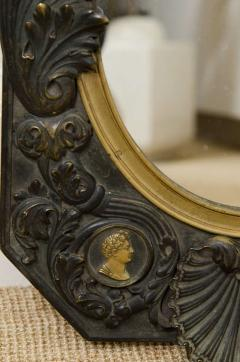 FRENCH NEOCLASSICAL BRONZE MIRROR - 1629705