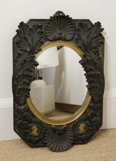 FRENCH NEOCLASSICAL BRONZE MIRROR - 1629706