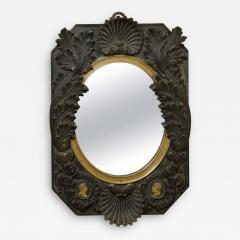 FRENCH NEOCLASSICAL BRONZE MIRROR - 1635246