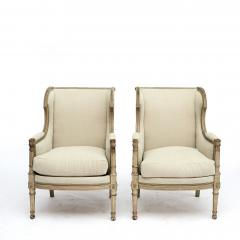 FRENCH PAIR OF LOUIS XVI STYLE BERG RE ARMCHAIRS - 1988471