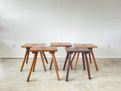 FRENCH PRIMITIVE STOOLS - 2021228