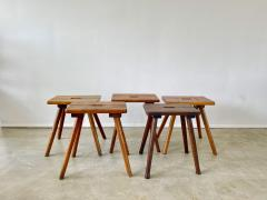 FRENCH PRIMITIVE STOOLS - 2021231