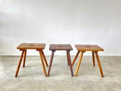 FRENCH PRIMITIVE STOOLS - 2021241