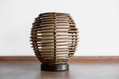 FRENCH RATTAN TABLE LAMP - 1154028