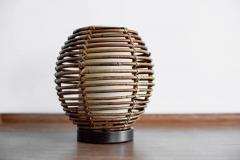 FRENCH RATTAN TABLE LAMP - 1154029
