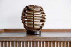 FRENCH RATTAN TABLE LAMP - 1154030