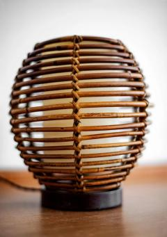 FRENCH RATTAN TABLE LAMP - 1154031