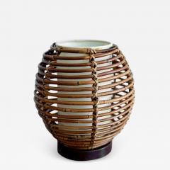 FRENCH RATTAN TABLE LAMP - 1155693