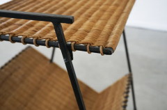 FRENCH WICKER MAGAZINE TABLE - 1860887