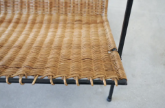 FRENCH WICKER MAGAZINE TABLE - 1860891