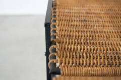 FRENCH WICKER MAGAZINE TABLE - 1860892