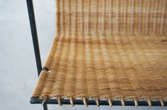 FRENCH WICKER MAGAZINE TABLE - 1860893