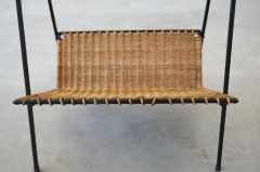 FRENCH WICKER MAGAZINE TABLE - 1860894