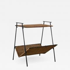 FRENCH WICKER MAGAZINE TABLE - 1864320