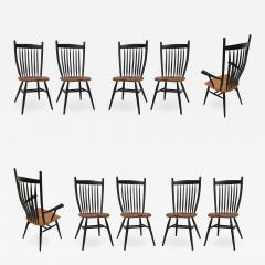 Fabian Fischer Set of 10 Handcrafted Studio Bent Chairs by Fabian Fischer Germany 2019 - 1034173