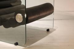 Fabio Lenci Pair Of Hyaline Lounge Chairs By Fabio Lenci - 1724222