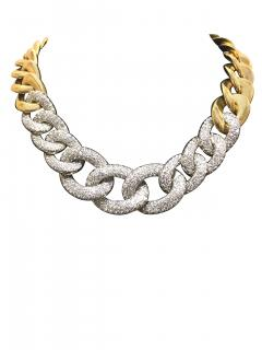 Fabulous 18k Gold and Diamond Necklace - 546909