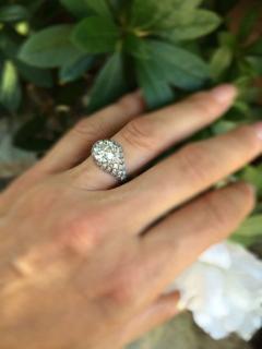 Fabulous Diamond Dome Ring - 181510
